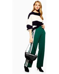 TOPSHOP - Side Stripe Slouch Joggers - Lyst