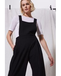 TOPSHOP - Pinny Jumpsuit By Boutique - Lyst