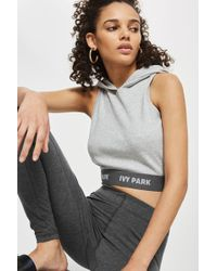 Ivy Park - Logo Ankle Leggings By - Lyst