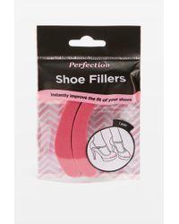TOPSHOP Shoe Filler End Pads - Pink