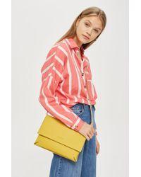 TOPSHOP - Clutch Bag - Lyst