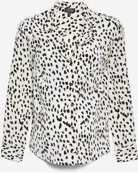 TOPSHOP - Maternity Satin Animal Pyjama Shirt - Lyst