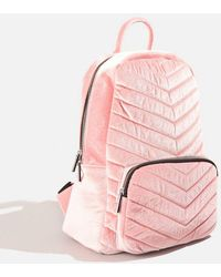 TOPSHOP - Lucy Pink Backpack By Skinnydip - Lyst