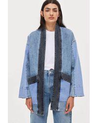 Native Youth - Denim Kimono Jacket By - Lyst