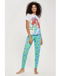 TOPSHOP - 'mermaids Do It Better' Pyjama Set - Lyst