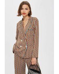 TOPSHOP - Geometric Print Pyjama Jacket - Lyst