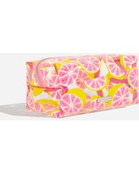 TOPSHOP - Glitter Grapefruit Make Up Bag By Skinnydip - Lyst