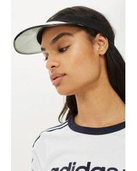 Asos Clear Brim Visor Hat In Black in Black - Lyst 0277326aacf