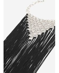 TOPSHOP - Tassel Link Statement Collar Necklace - Lyst