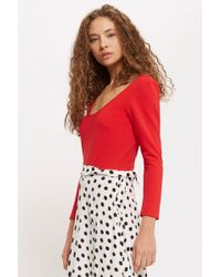 Oh My Love - Scoop Neck Long Sleeve Body By - Lyst