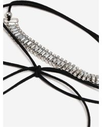 TOPSHOP - Stone Wrapped Choker - Lyst