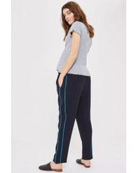 TOPSHOP - maternity Side Pipe Trousers - Lyst