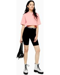 TOPSHOP Black Cycling Shorts - Noir