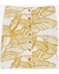 Wyldr - Sweet Talk - Leaf Print Skirt By - Lyst