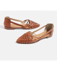 TOPSHOP - Abstract Woven Shoes - Lyst