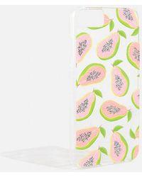 Skinnydip London - Glitter Papaya Case - Iphone By Skinnydip - Lyst