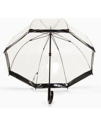 TOPSHOP Birdcage Tpu Umbrella - Black