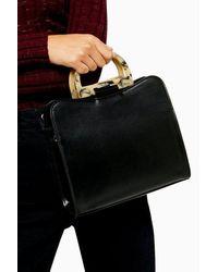 TOPSHOP - Theoacrylic Shoulder Bag - Lyst