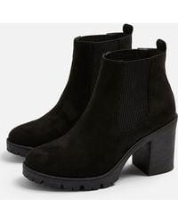 TOPSHOP Byronunit Boots - Black