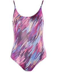 Oh My Love - Disco Printed Bodysuit By - Lyst