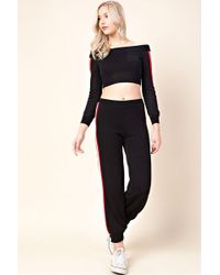 Honey Punch - Side Stripe Joggers By - Lyst