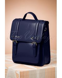 Banned Retro 60s Cohen Handbag - Blauw