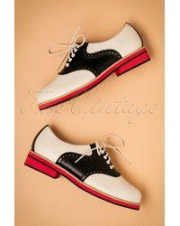 Banned Retro 60s Old Soul Dancer Shoes - Meerkleurig