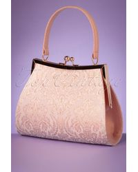 Ruby Shoo 50s Toulouse Handbag - Roze