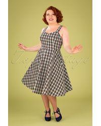 Banned Retro 50s Scot Swing Dress - Meerkleurig