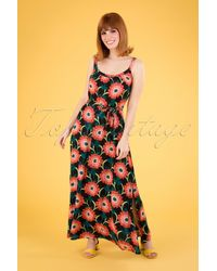 King Louie 60s Allison Arancino Maxi Dress - Meerkleurig