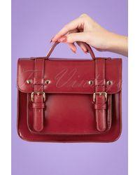 Banned Retro 50s Galatee Messenger Bag - Rood