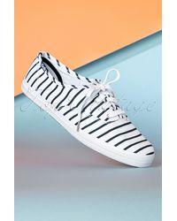 Keds 50s Champion Breton Stripes Sneakers - Blauw