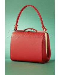 Collectif Clothing 60s Carrie Bag - Rood