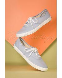 Keds 50s Champion Core Seasonal Sneakers - Blauw