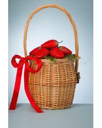 Lulu Hun 50s Dina Strawberry Basket Bag - Meerkleurig