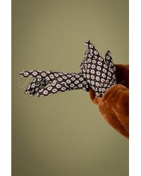 King Louie 60s Tate Gloves - Zwart