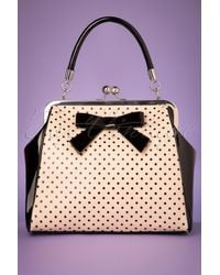 Banned Retro 50s Frances Polka Star Bag - Meerkleurig