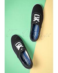 Keds 50s Champion Core Text Sneakers - Meerkleurig
