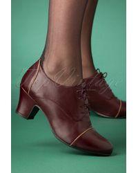 Miz Mooz 40s Felice Shoe Booties - Groen