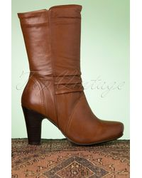 Miz Mooz 70s Kellim Leather Boots - Bruin