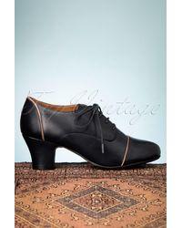 Miz Mooz 40s Felice Shoe Booties - Blauw