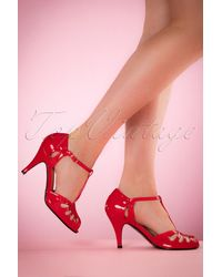 Banned Retro - 40s Secret Love Sandals - Lyst