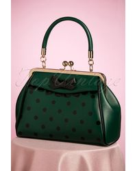 Banned Retro 50s Crazy Little Thing Bag - Groen