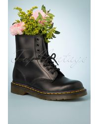 Dr. Martens 1460 Smooth Ankle Boots - Zwart