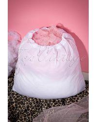 Banned Retro Petticoat Wash Bag - Wit