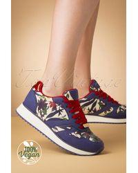 Ruby Shoo 70s Suzie Sage Sneakers - Meerkleurig