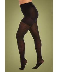 Magic Bodyfashion Diamonds Legs Tights - Zwart