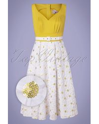 Miss Candyfloss 50s Kesha Swing Dress - Meerkleurig