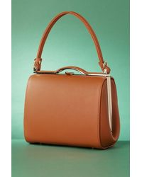 Collectif Clothing 60s Carrie Bag - Bruin