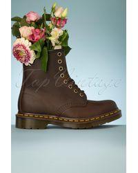 Dr. Martens 1460 Gaucho Crazy Horse Boots - Bruin
